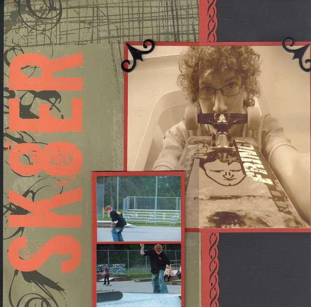 Skateboarding pg 1