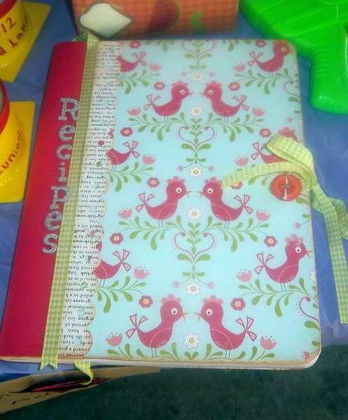 Recipe comp book