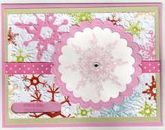 Pink Gem snowflake