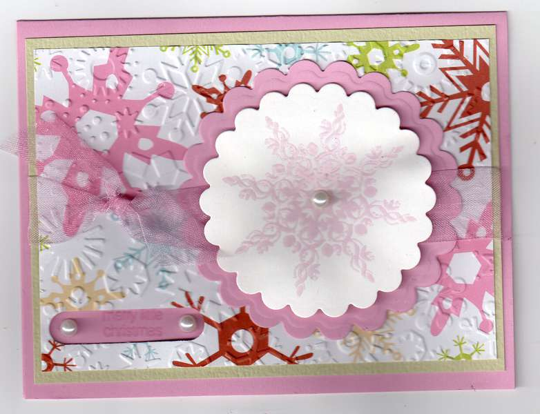 Pink Pearl Snowflake