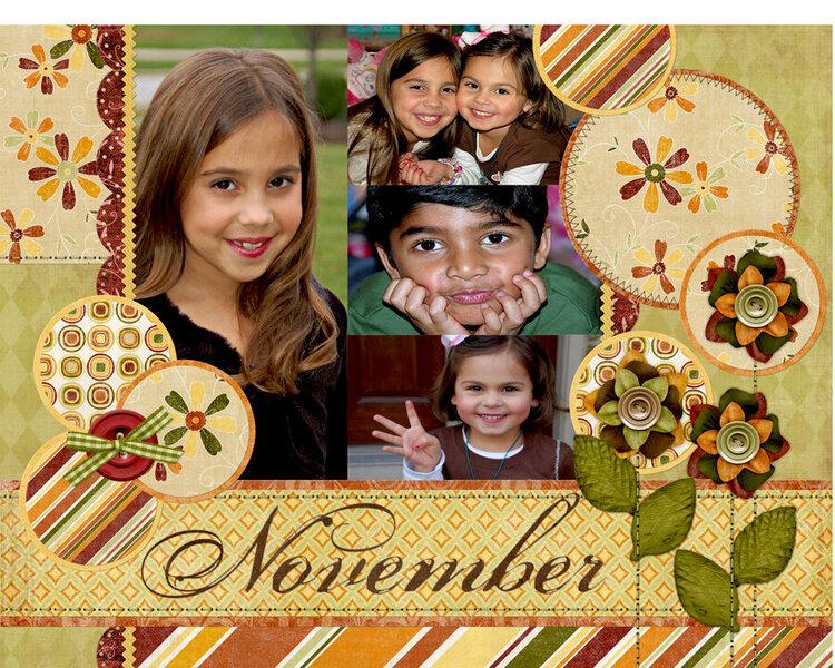November Top