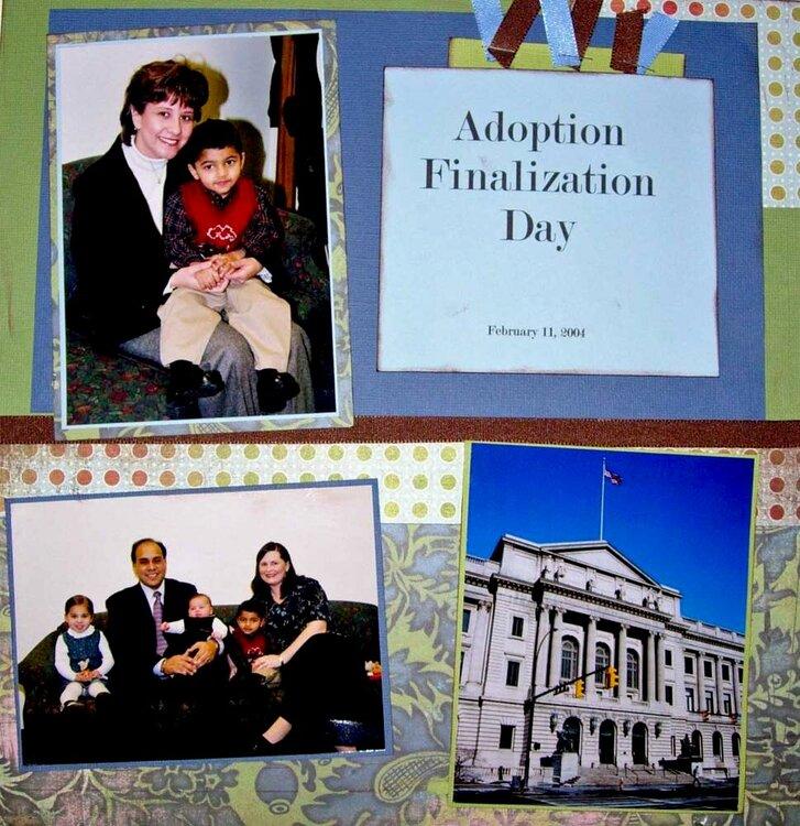 Adoption Finalization Day