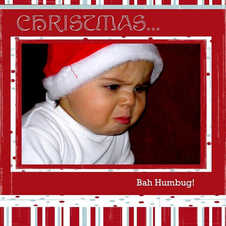 Christmas   Bah Humbug!
