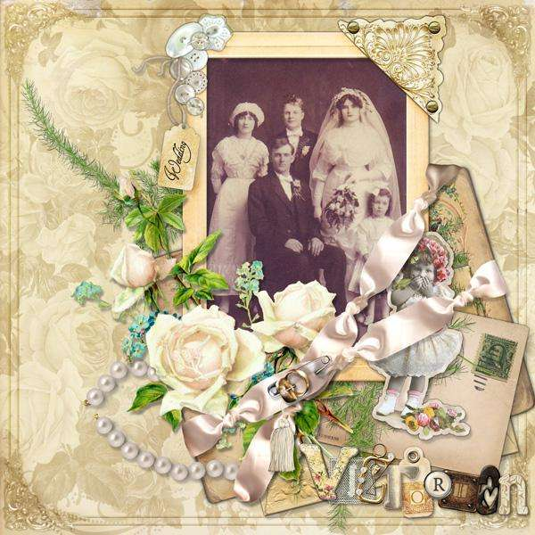 Victorian Wedding Party