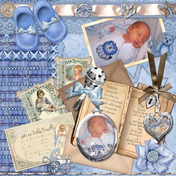 Newborn baby boy Rohan page 3