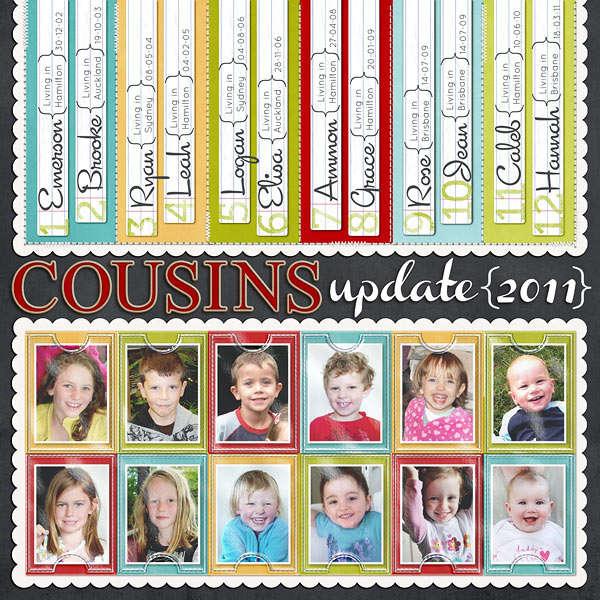 Cousins update 2011