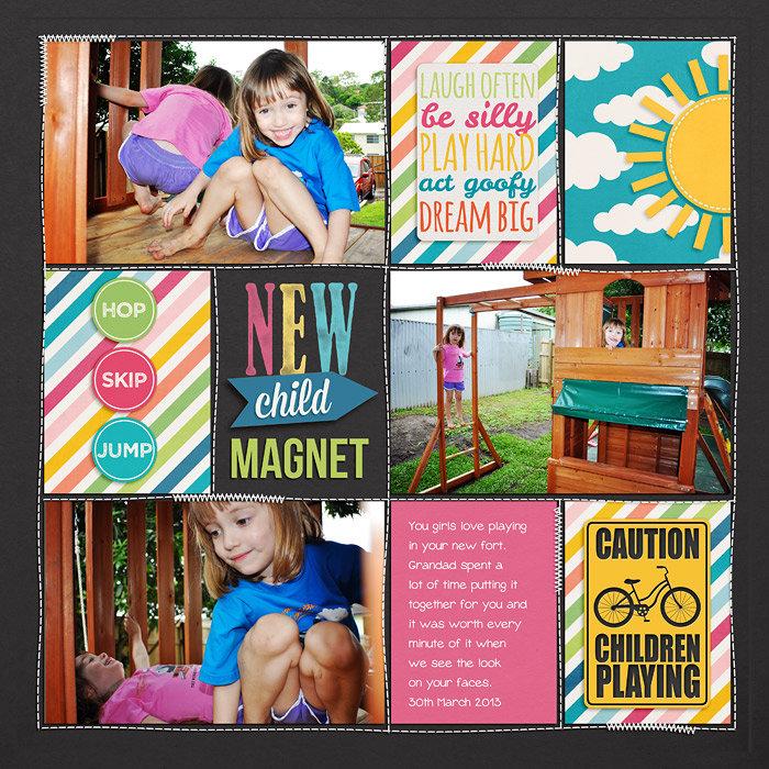 New child magnet