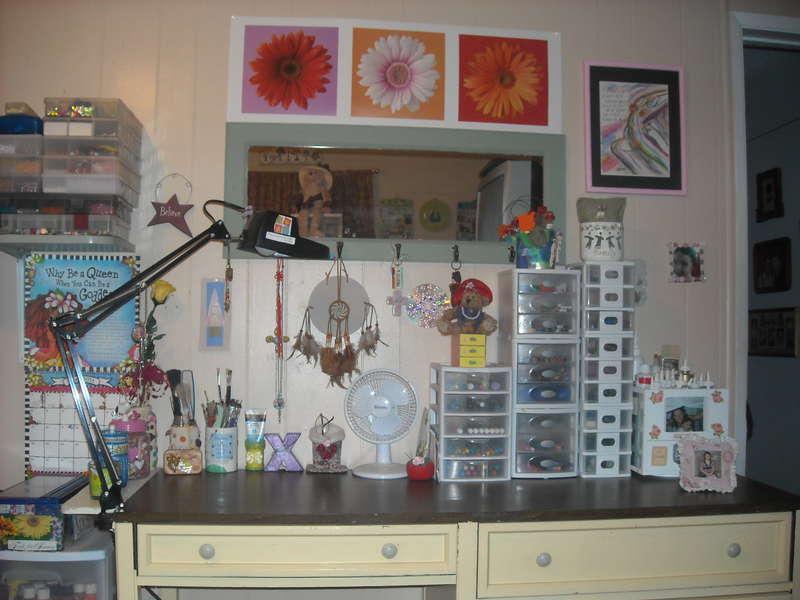 my organized desk