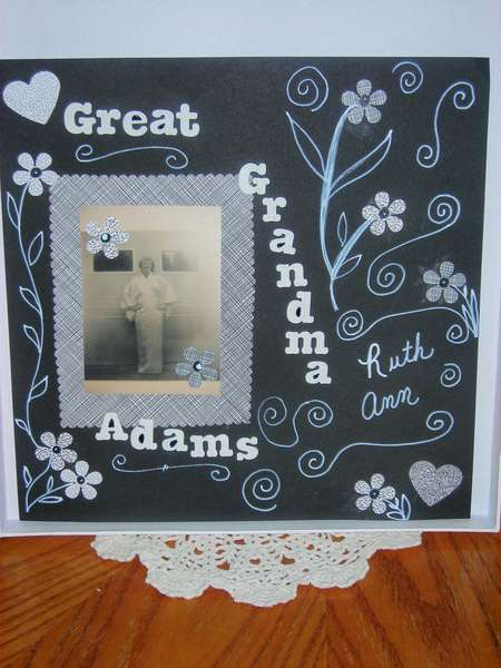 Recycled Mail Envelope Paper Layout