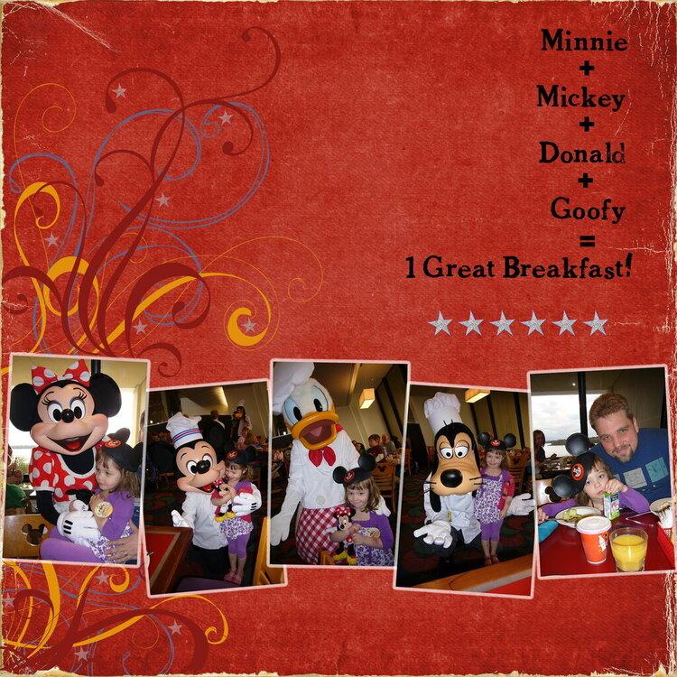 Character Breakfast