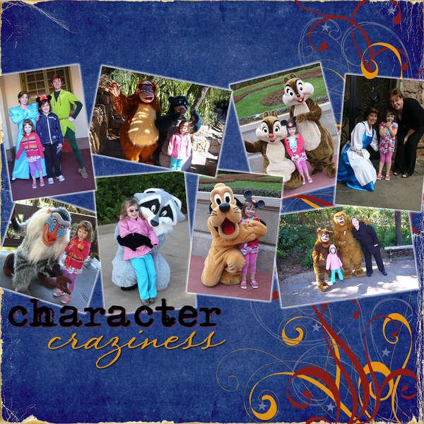 Character Craziness