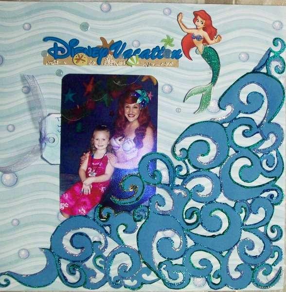 Disney Vacation - Meeting Ariel