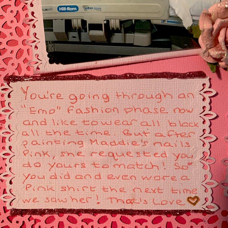 Think Pink Journaling