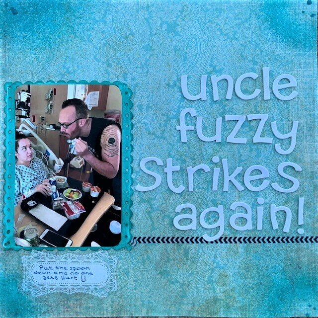 Uncle Fuzzy Strikes Again