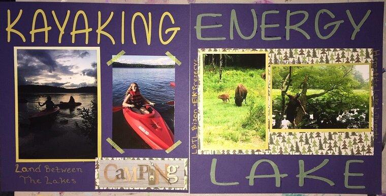 Kayaking Energy Lake