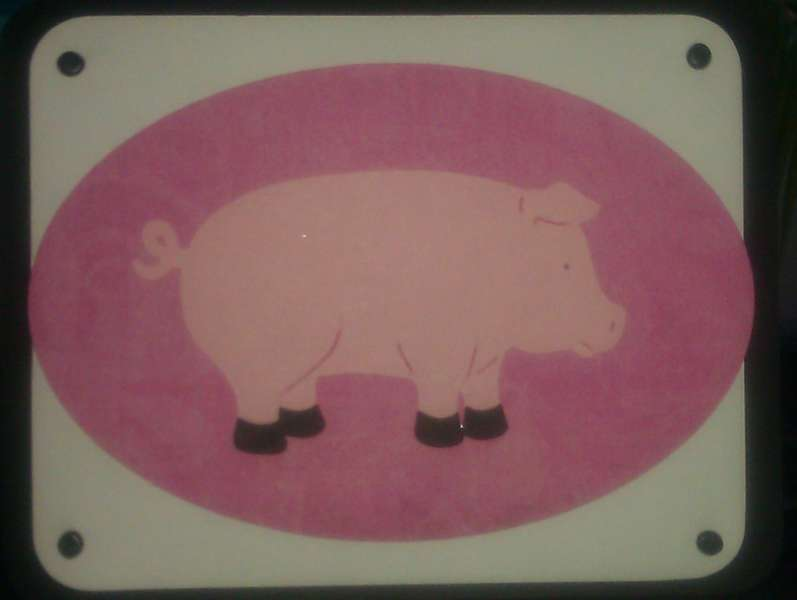 Pig card for mil