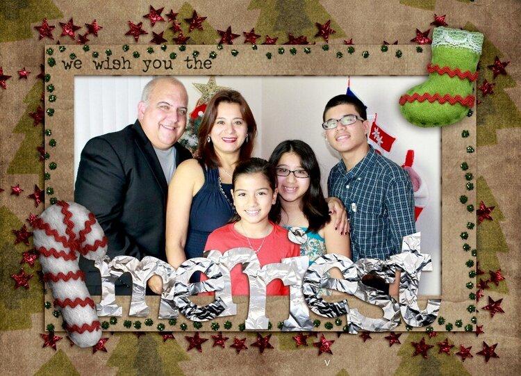 my family xmas 2012