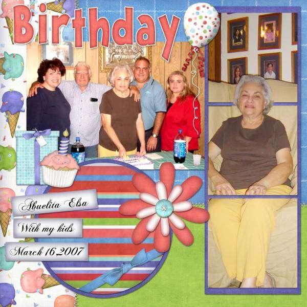 Granny Bday 4