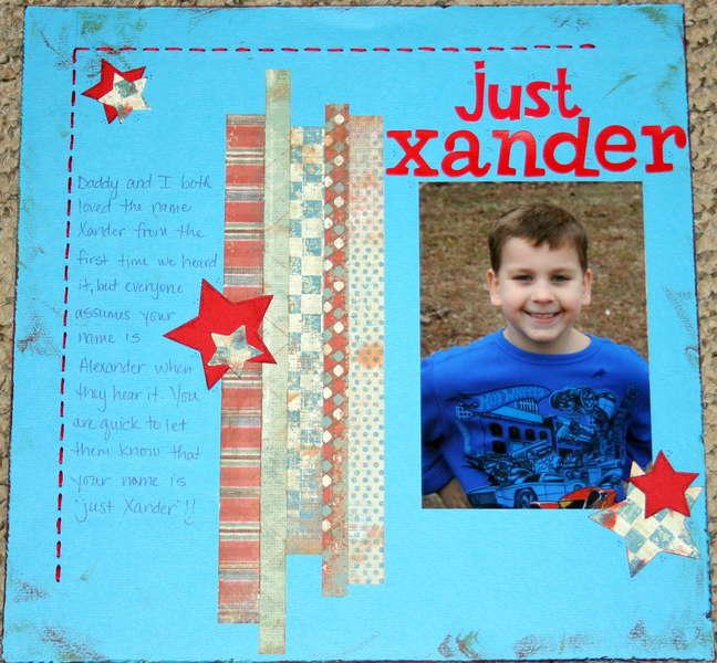 Just Xander