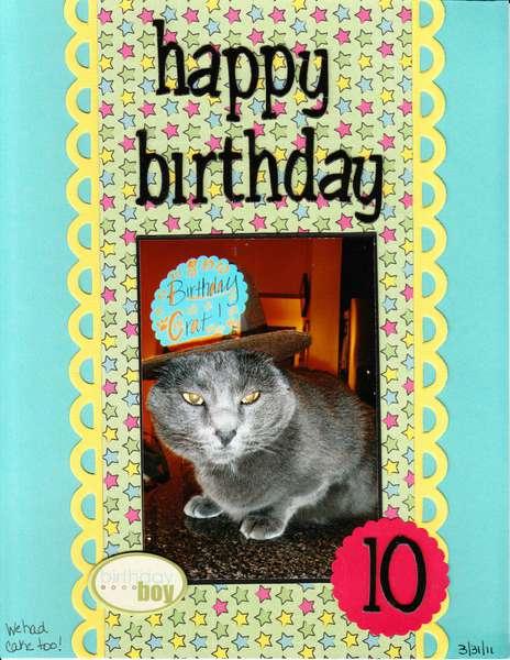 Ranger's 10th Birthday