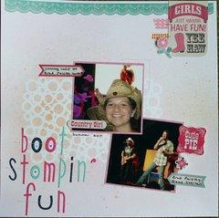 Boot Stompin' fun
