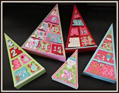 Doodlebug Advent Boxes