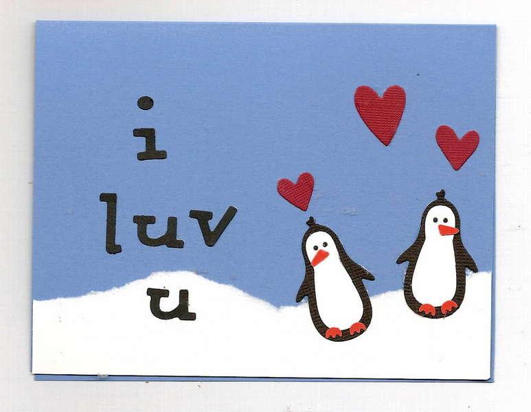 penguin valentine - 2007