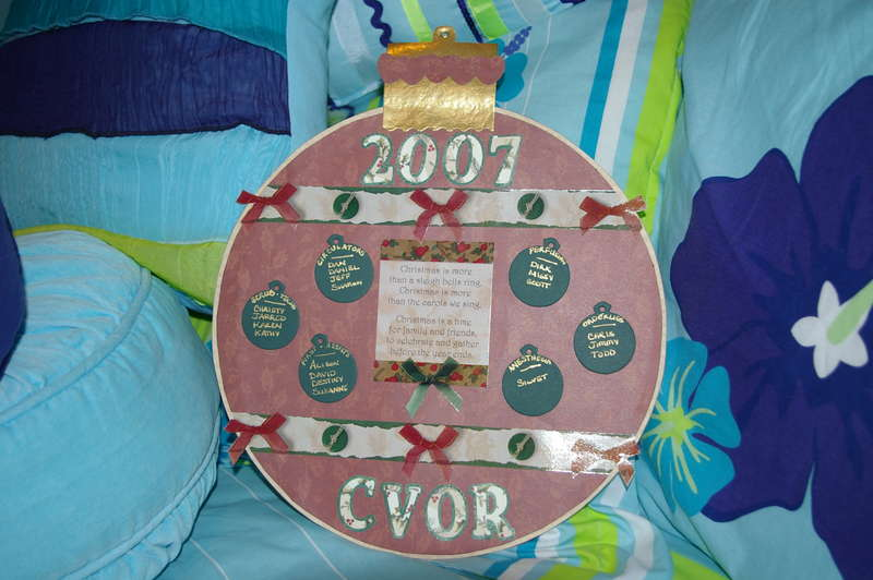 CVOR Dept Ornament