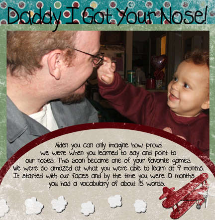Daddy I Got you Nose