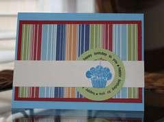 Boy Cupcake Card