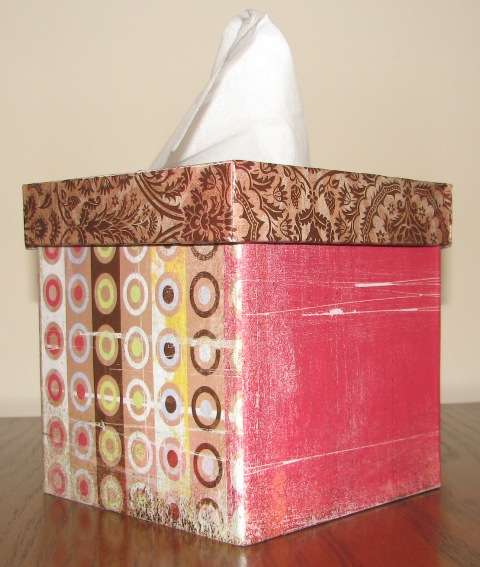 Altered tissue box