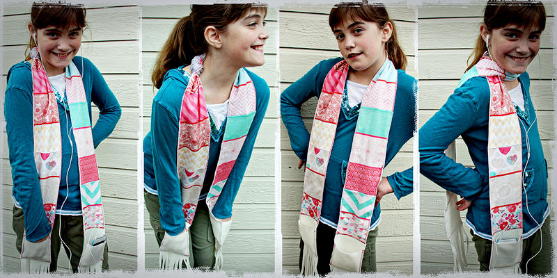 Crate Paper Fourteen Pocket Scarf