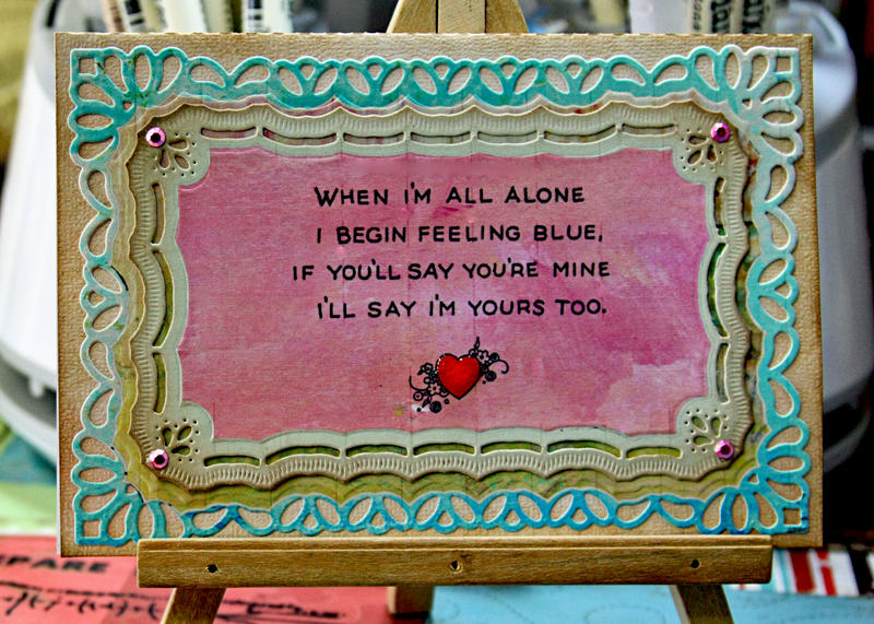 Valentine Vintage Sentiment