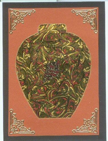 Iris Folded Vase
