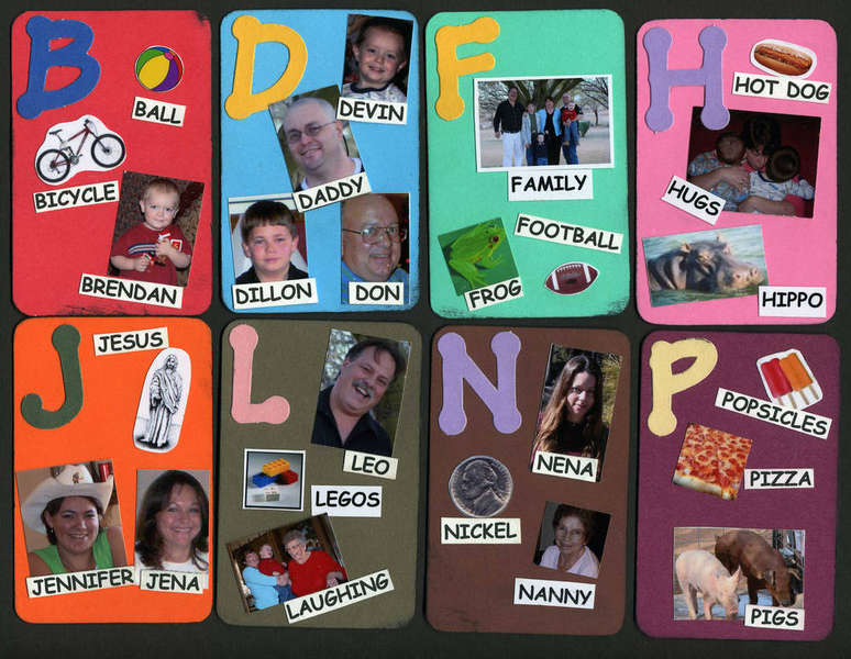 ABC Family Tag Book 2
