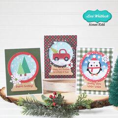 Snowglobe Shaker Cards