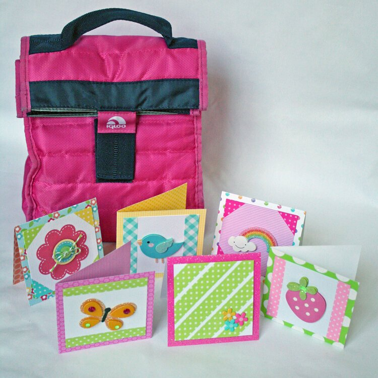 Lunch Box Notecards