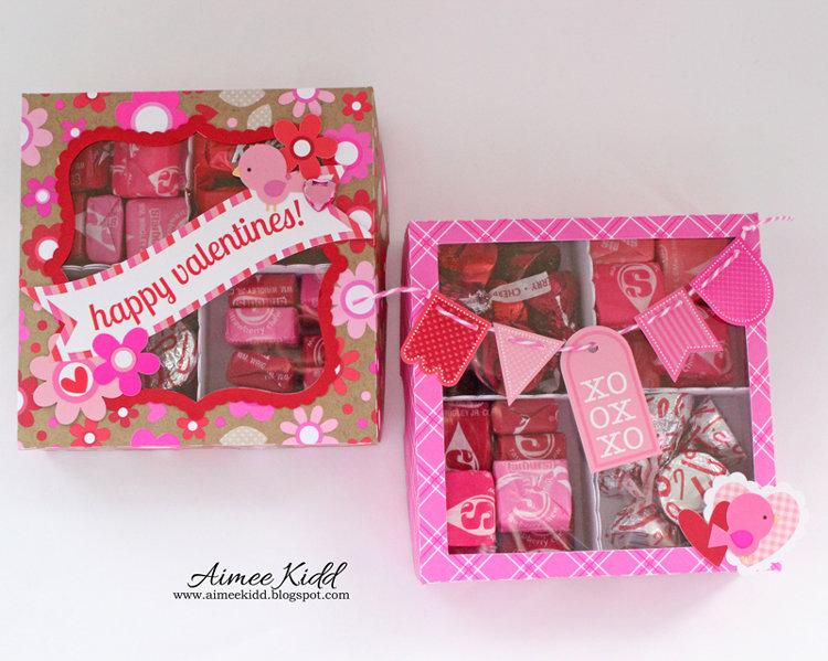 Valentine Treat Boxes *Doodlebug*
