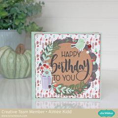 Happy Birthday To You Wiper card