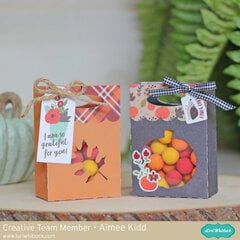 My Favorite Fall Treat Panel Bags