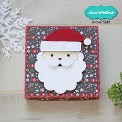 3D Santa Candy Box
