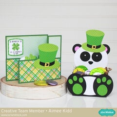 St. Patrick's Day card/goodie box