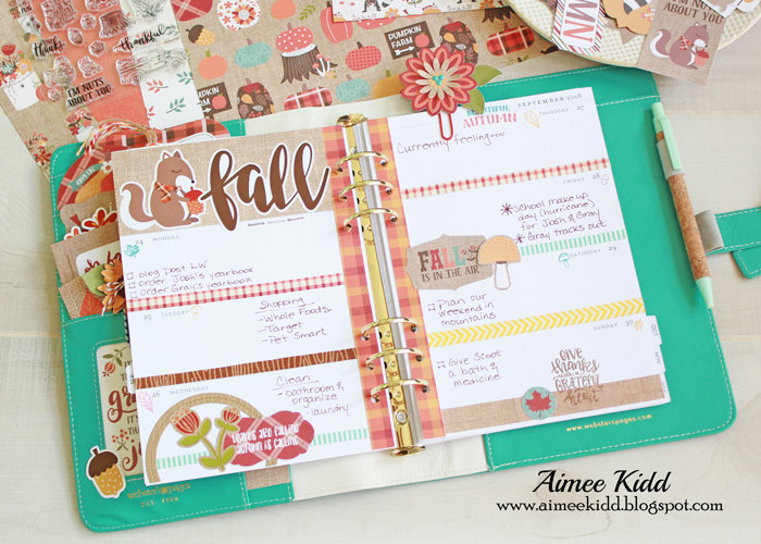 It's Fall Y'all Planner