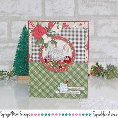 Merry Christmas shaker card