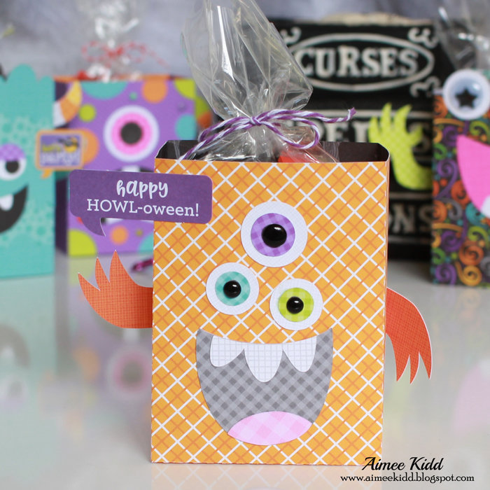 Halloween Monster Treat Boxes