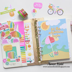 August Planner pages
