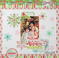 Holiday Wishes *Imaginisce*