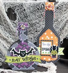*Imaginisce* Halloween Potion Bottles