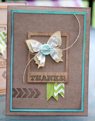 Thanks! card *Imaginisce*