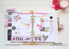 How Sweet...Loved by You monthly spread